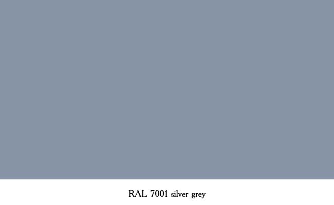 Рал 7001 цвет фото