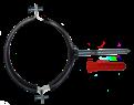 Хомут сантехнический 4 (107-115) (шпилька + дюбель)