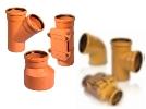 Фасонные части ПВХ для наружной канализации