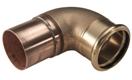 P 4040: отвод однораструбный 45, от 64 до 108мм