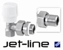 Ручной угловой клапан Jet-Line