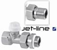 Прямой отсеченный клапан Jet-Line