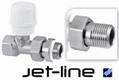 Ручной прямой клапан Jet-Line