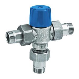 Термостатический Т-образный смеситель для систем водоснабжения