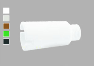 Заглушка резьбовая удлиненная (нар. рез.) Plastherm