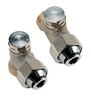 Одинарный вентиль для панельных радиаторов