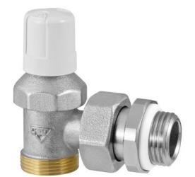 Отсечной Угловой клапан 1/2 RFS с переходом на медную и металлопластиковую трубы