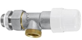 Термостатический Осевой клапан 1/2  RFS с переходом на медную и металлопластиковую трубы