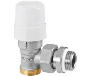 Термостатический Угловой клапан 1/2 RFS с переходом на медную и металлопластиковую трубы RBM