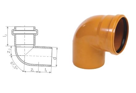 Отвод для наружной канализации