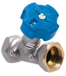 Балансировочный клапан с индикатором числа оборотов и функцией