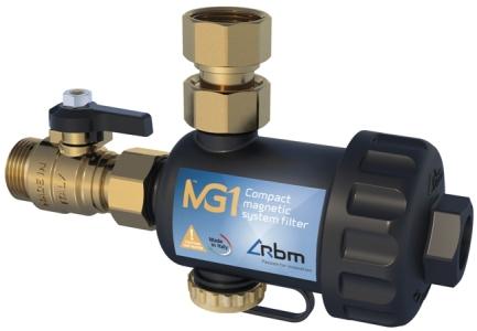 Магнитный фильтр MG1 для систем отопления RBM (Италия)