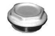 Заглушка алюминиевого радиатора правая