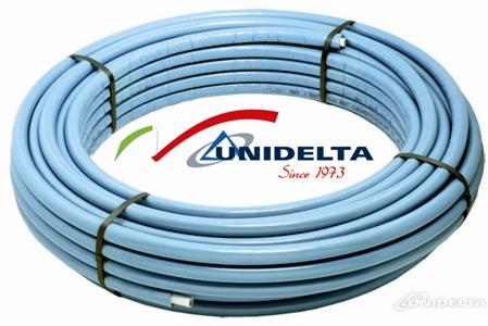 Предварительно изолированная труба для сантехнических целей и отопления UNIDELTA (Италия)