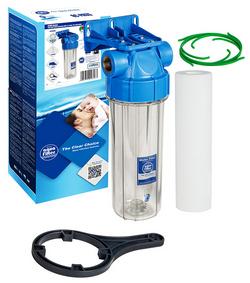 Магистральный фильтр с картриджем AquaFilter (Польша)