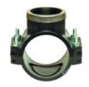 Седло зажимное с металлическим кольцом