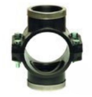 Двойное зажимное седло с металлическим кольцом