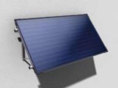 Монтаж солнечного коллектора на фасаде