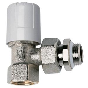 Ручной угловой клапан с прокладкой