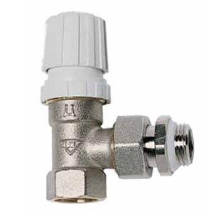 Угловой термостатический клапан с прокладкой